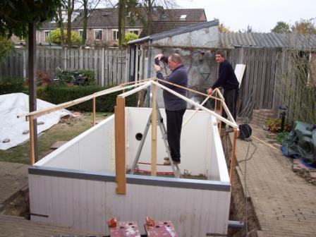 Forums vijver aanleg ontwerp show je tuin nieuwe for Zelf vijver bouwen