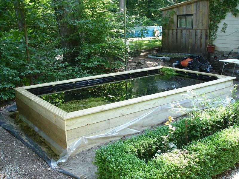 Forums vijver aanleg ontwerp show je tuin nieuw for Grote vijverbakken