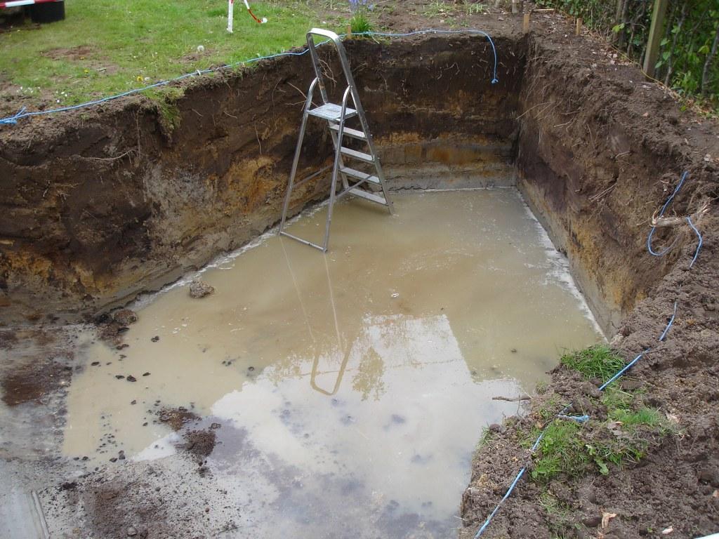 Vijver vullen met grondwater