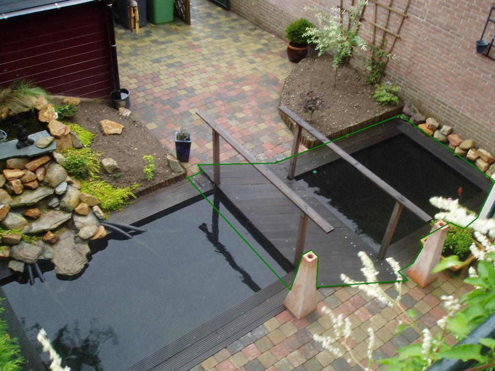 Forums vijver aanleg ontwerp show je tuin pijnlijk besluit de grootste koi - Hoe dicht terras ...