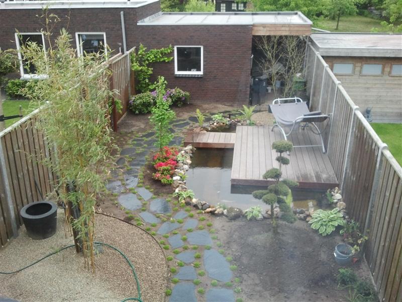 Forums vijver aanleg ontwerp show je tuin aanleg japanse tuin 100 m2 de - Klein zwembad in de kleine tuin ...
