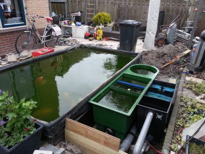 Forums vijver aanleg ontwerp show je tuin nieuwe for Vijver skimmer
