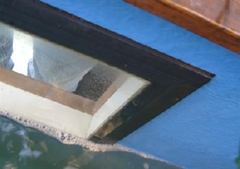 Content doe het zelf zelfbouw een raam in de vijver for Tuinvijver maken